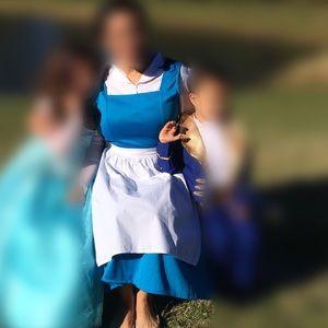 Women's Disney Belle costume medium